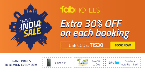 Get extra 30% off on each booking